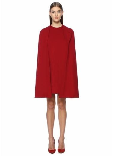 Sara Battaglia Elbise Kırmızı